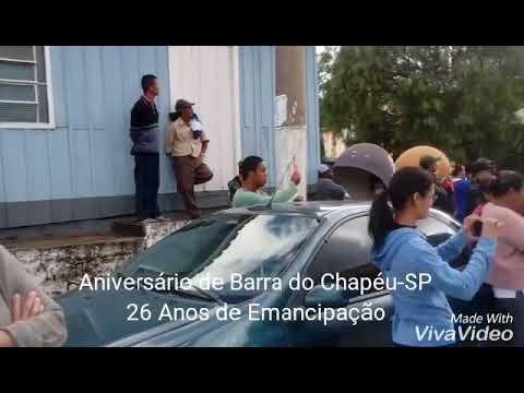 Aniversário de Barra do Chapéu-SP 19/05/2.018