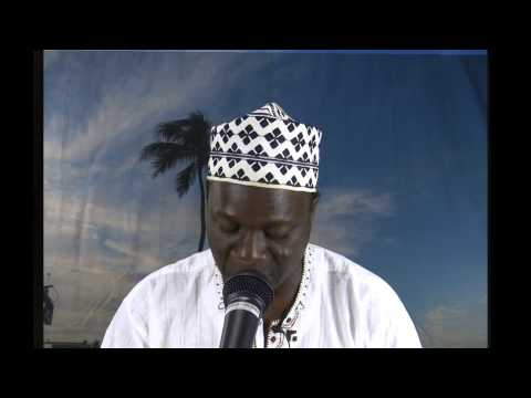 Sura Baqara Recitation by Alhaji Abdullahi Saoty