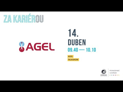 Video: TALKSHOW: AGEL   Za kariérOU 2021