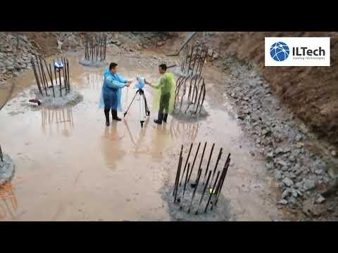 Siêu âm cọc khoan nhồi tại tỉnh Quảng Ninh/ Cross-hole Sonic Logging model All-in One (Italia)