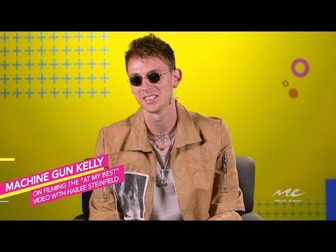 Machine Gun Kelly on Shooting
