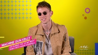 Machine Gun Kelly recalls a funny moment with Hailee Steinfeld while filming