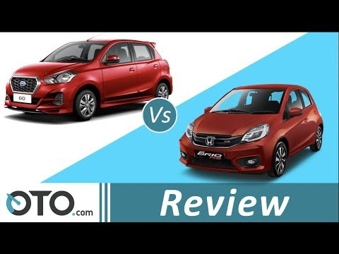 Datsun Go vs Honda Brio Satya | Review | Adu LCGC Transmisi CVT | OTO.com