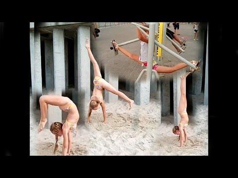 My gymnastics. Моя гимнастика. Разминка на тренажёрах.