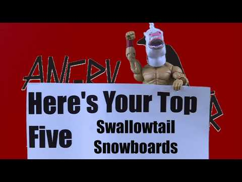 Top 5 Swallowtail Snowboards