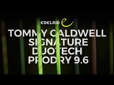 Edelrid Tommy Caldwell Signature 9.6mm climbing rope