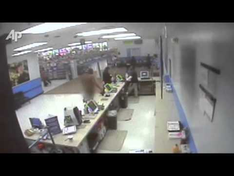 Security Cameras Catch Naked Guy Stealing Socks
