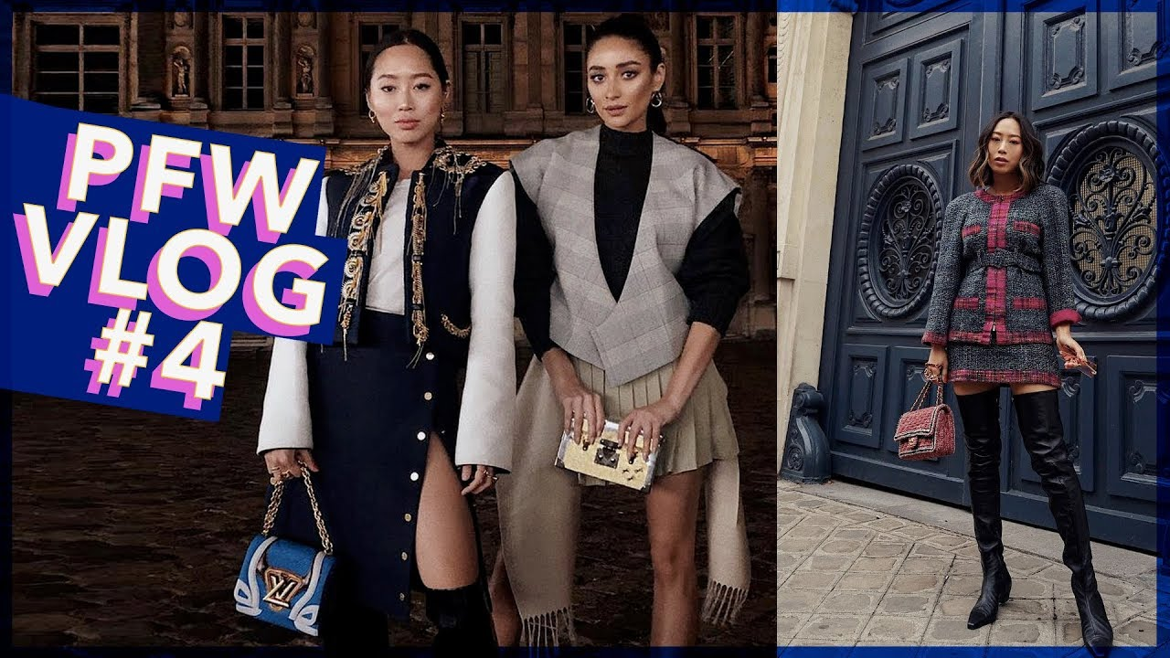 PFW Part 4: Favorite Shows, Chanel, Louis Vuitton & Karaoke // Vlog #69 | Aimee Song