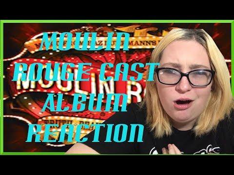Moulin Rouge Broadway Cast Recording Reaction :)