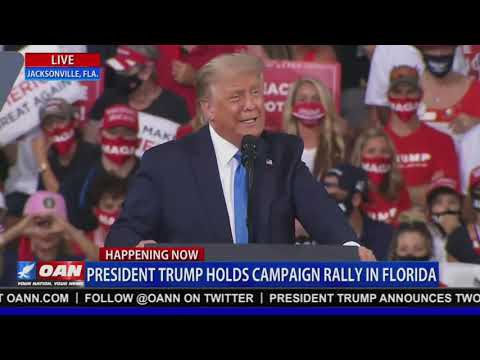 """President Trump Holds """"Great American Comeback"""" Rally in Jacksonville, FL - Live Feed Now Video!"""