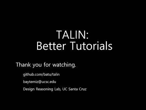 Screenshot of Talin
