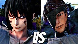 JUMP FORCE - Sasuke vs Aizen 1vs1 Gameplay & Special Interaction (PS4 Pro)