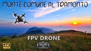 MONTE COMUNE - PENISOLA SORRENTINA, GOLFO DI NAPOLI & SALERNO - DRONE FPV - VIDEO UHD 4K-60