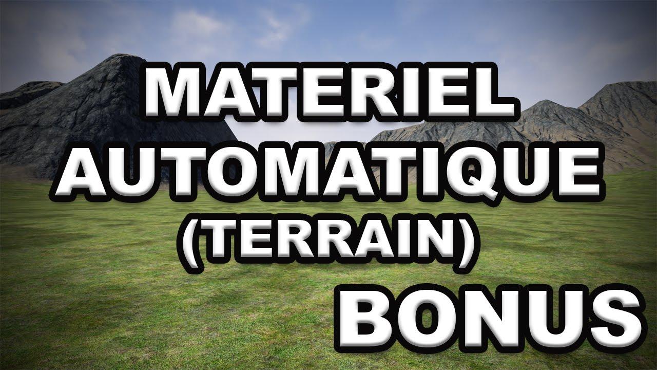 [UE4 TUTO FR] Automatique Matériel - Visibilité du terrain (Masque)