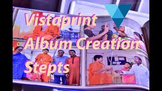 Tutorial : How To Create VistaPrint Album And Place The Order