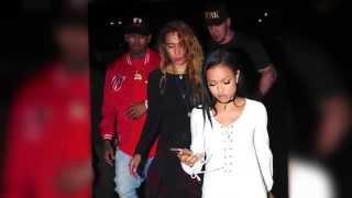 Police Respond To Chris Brown & Karrueche Tran Fight | Splash News TV | Splash News TV