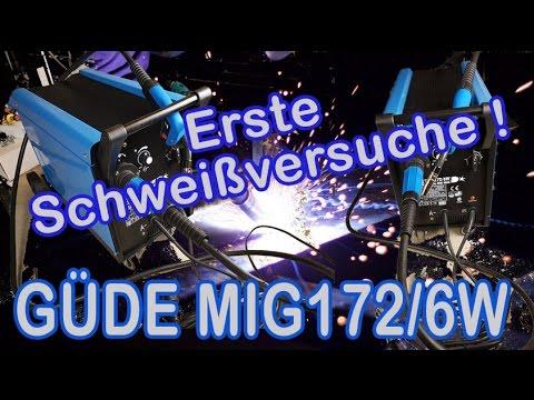 Güde Schutzgas Schweißgerät MIG 172 6w Testbericht