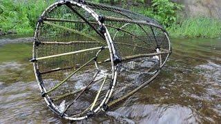 Как сделать мордушку для ловли рыбы
