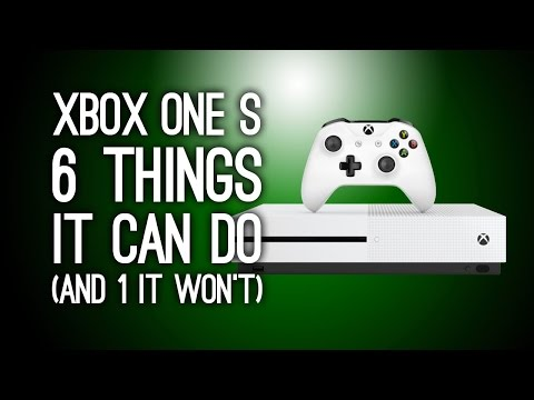 Xbox One S: 6 New Things It Can Do (And One That It Won't) - Xbox One Slim