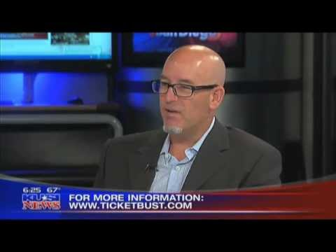 Ticketbust.com And Steve Miller on KUSI News San Diego, CA