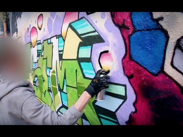 Calligraffiti Ambassadors vs. STROKE Artfair