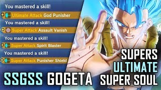 How To Unlock SSGSS Gogeta's Supers, Ultimate and Clothes - DLC 8 - Extra Pack 4