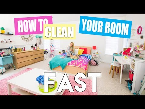 How to Clean Your Room FAST!