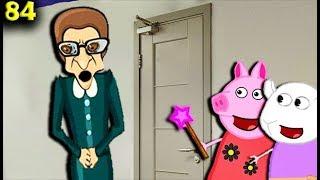 Мультики Свинка Пеппа Злой учитель убежал в туалет  84 серия Мультфильмы для детей на русском