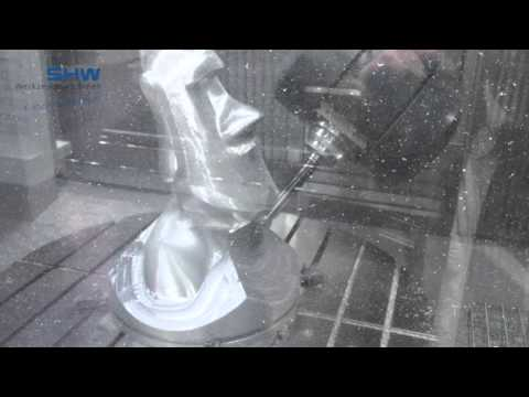 UniSpeed 5HSC - Fork Milling Head with integrated high frequency spindle
