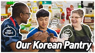 How To Bring Korean Flavors Into Your Cooking with Deuki Hong, Gregory Gourdet, and Maya Lovelace