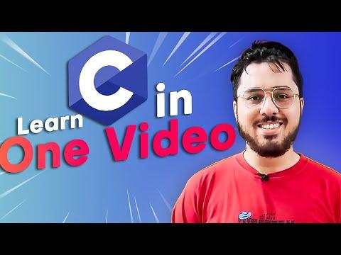 C Programming Tutorial For Beginners: Learn C In Hindi