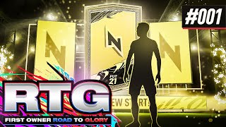 A FRESH NEW START!! - #FIFA21 First Owner Road To Glory! #01 Ultimate Team
