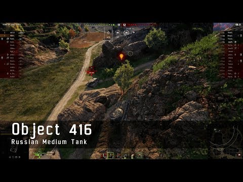 World of Tanks – Russian Tech Tree - Medium tank - Object 416 – Empires border