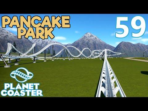 Planet Coaster PANCAKE PARK - Part 59 - RIDING ALL THE RIDES #1