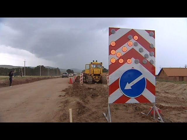 На Ольхоне началось строительство дороги