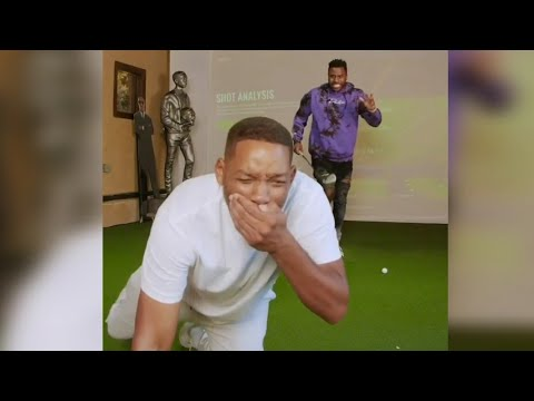 Jason Derulo Knocks Out Will Smith's Teeth While Golfing