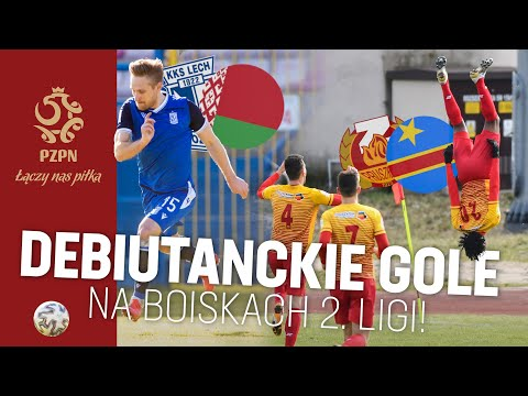Gole z meczu Znicz Pruszków - Wigry Suwałki i innych boisk