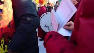 СОР  - посылка из черепа владыке смерти через огонь, Кызыл 2018