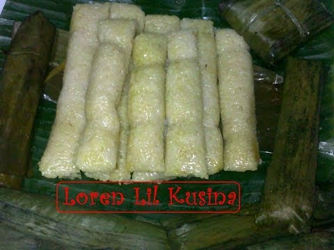 Download Suman Malagkit Filipino Kakanin - Rice Cake HD Mp4 3GP Video and MP3
