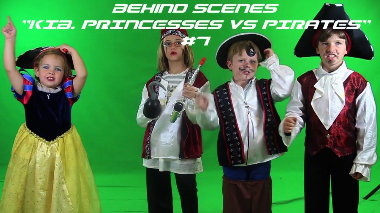"Behind the Scenes: ""KIB. Princess VS Pirates"" #7"