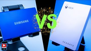 Samsung SSD Vs Seagate HD Game Drive - Which One Is BEST External Drive For Your Xbox Series X / S?