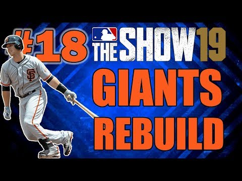 2 BIG BLOCKBUSTER TRADES!! SAN FRANCISCO GIANTS FRANCHISE EPISODE 18 | MLB 19