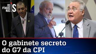 Senadores do G7 da CPI e Lula têm conversas secretas, diz jornal