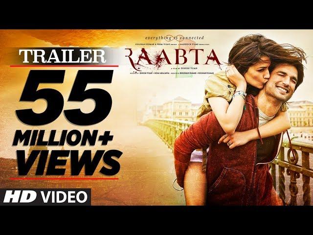 Raabta Hindi Movie Trailer |  Sushant Singh Rajput, Kriti Sanon