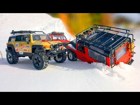 RC Trucks Epic Crashes And Snow OFF Road — RC Extreme Pictures