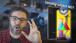 Samsung Galaxy M31 vorgestellt. Akku satt. Deutsch