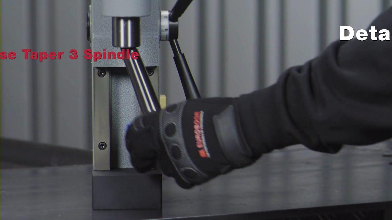Сверлильный станок на магнитном основании, D 12-55 мм, реверс