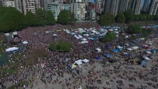 Drone Phantom 4 flight - Vancouver 420 -  Weed Day 2016 (HD 4K)