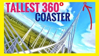 Highest VR 360° Roller Coaster in 8K - POV 360 3D Videos Split Screen Virtual Reality