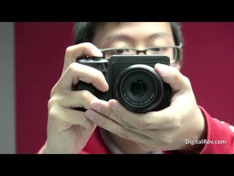 Ricoh GXR w/ A12 50mm f2.5 Macro Hands-on Video